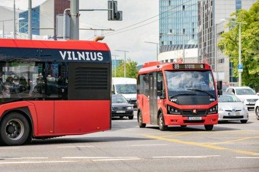 Vilniuje – 9 nauji viešojo transporto maršrutai, daugiau kaip 20 ekologiškų autobusų