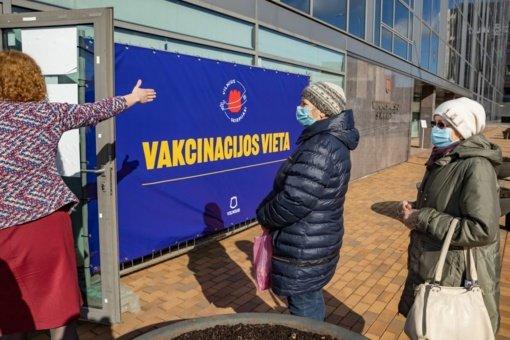 "Vilnius ""Pfizer"" vakcina kviečia skiepytis senjorus, pedagogus ir abiturientus"