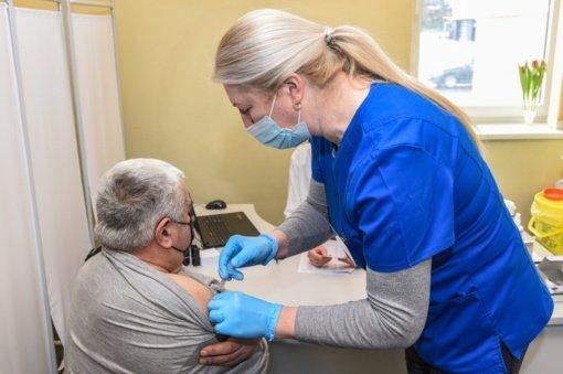 Panevėžyje didėja vakcinacijos tempai