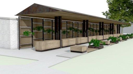 Pristatyta Radviliškio miesto centre kuriamos naujos prekyvietės vizija