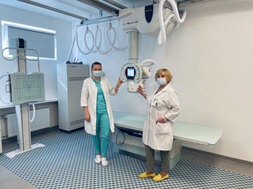 Jonavos ligoninėje – naujas rentgeno aparatas ir atnaujintos patalpos