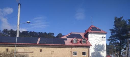Diegiami sprendimai atsinaujinančios energijos panaudojimui Neringos savivaldybėje