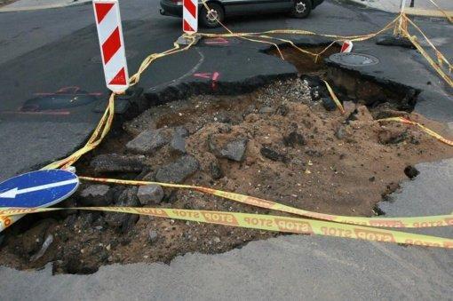 Dar viena vandentiekio tinklų avarija Lazdijuose: vandens neturės kelių gatvių gyventojai