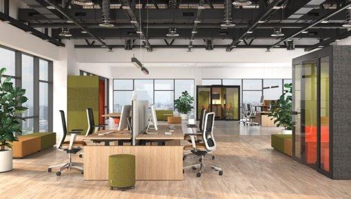 Modernūs ir funkcionalūs NARBUTAS baldai šiuolaikiškam biuro interjerui