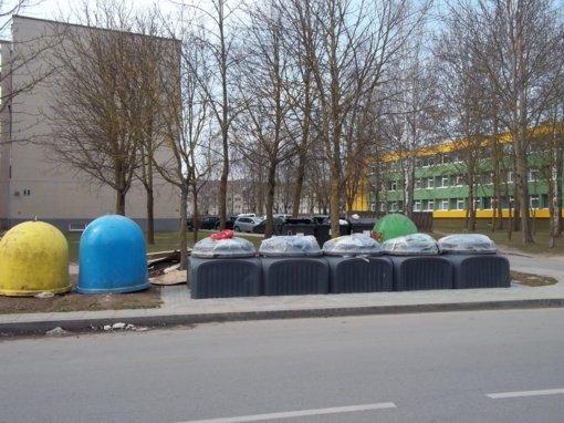 Kada atsivers nauji atliekų surinkimo konteineriai?