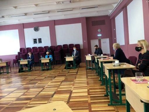 Plungėje lankėsi Lietuvos Respublikos švietimo, mokslo ir sporto ministrė
