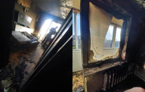 Ukmergiškio kerštas buvusiai mylimajai: padegė butą ir vos nesusprogdino viso daugiabučio
