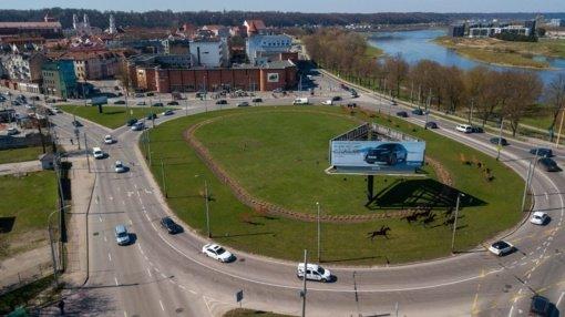 Kelininkai iki rudens remontuos vieną pagrindinių transporto mazgų Kauno centre