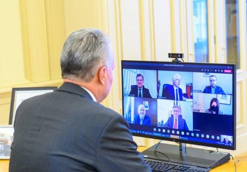 Prezidento susitikime su Telšių regiono merais: nuveikti darbai, vakcinacijos problemos ir žmonių su negalia gerovė