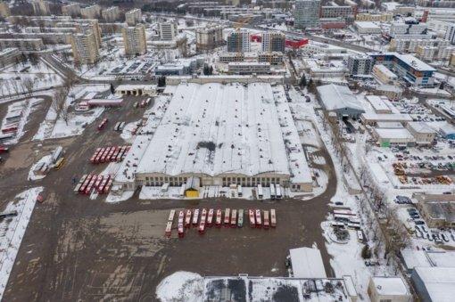 Verkių autobusų parkas: 9 hektarai pokyčių idėjoms