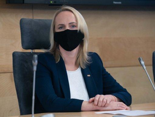 Liberalė E. Rudelienė prisiekė Seime
