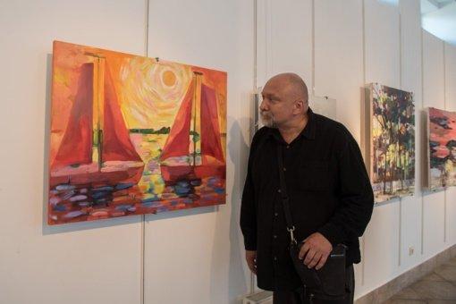 Mirė Vievio meno mokyklos mokytojas, menininkas Augenis Kasputis