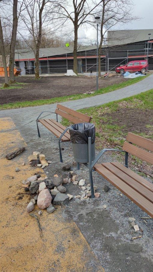 Šiaulių centrinis parke pasigendama atsakingumo