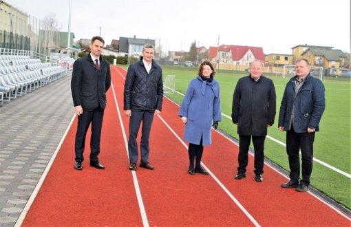 Viceministras Kauno rajone mato dideles galimybes plėtoti sportą