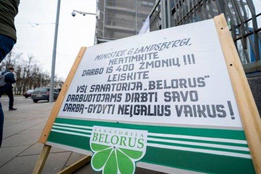 """Sodra"" teigia neinicijuojanti ""Belorus"" sanatorijos bankroto"
