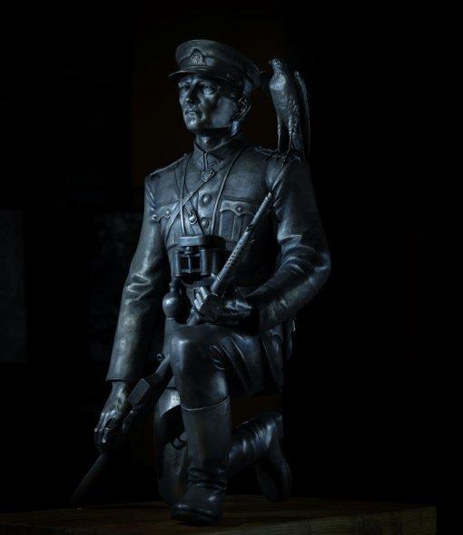 Pristatomas naujas įspūdingas paminklas A. Ramanauskui-Vanagui