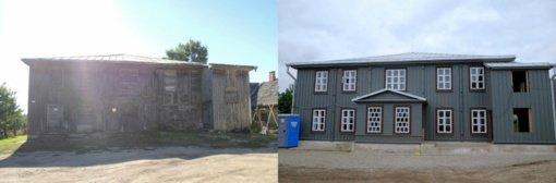 Sutvarkyta Žiežmarių sinagoga pretenduoja tapti nauju kultūros centru