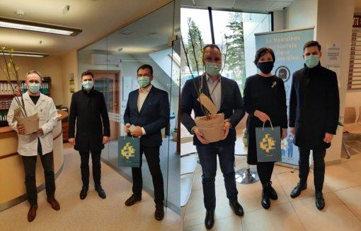 Pasveikinti Tauragės rajono medicinos darbuotojai
