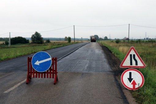 Alytaus rajone bus asfaltuota 13 gatvių