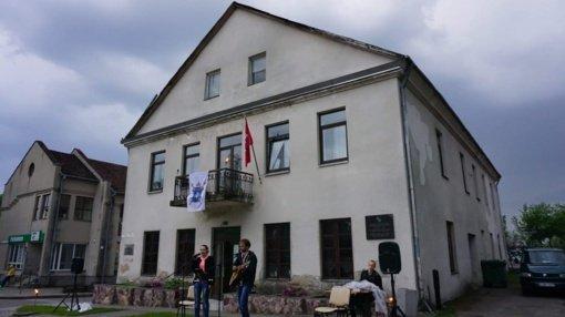Vazos namas perleistas Merkinės krašto muziejui