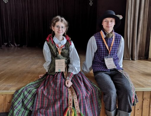 Lazdijų moksleiviams – laurai iš respublikinės etninės kultūros olimpiados