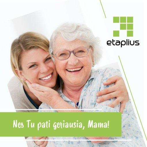 """""""Etaplius"""" sveikina visas mamas su Motinos diena"""