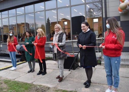 Širvintose atidaryta naujoji treniruoklių salė