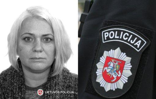 Sostinės policija ieško be žinios dingusios moters