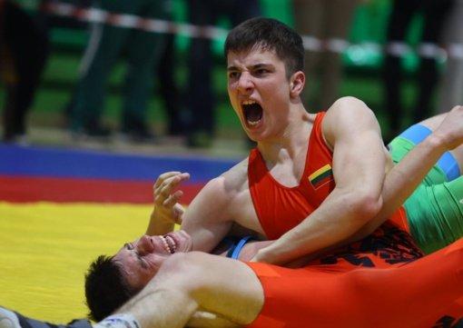 Imtynių čempionatuose – sėkmingi anykštėnų pasirodymai