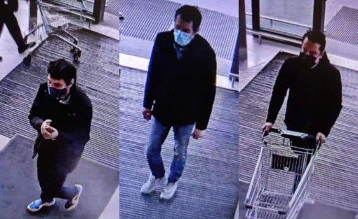 Kauno pareigūnai aiškinasi, kas įvykdė vagystę prekybos centre
