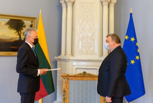 G. Nausėda suteikė įgaliojimus Lietuvos ambasadoriui Vokietijoje