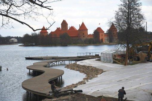 Išnaudoti ežerų potencialą Trakai mokosi ir iš istorinio Lenkijos miesto