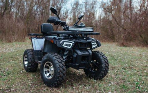 Jonavos rajone pavogtas keturratis motociklas