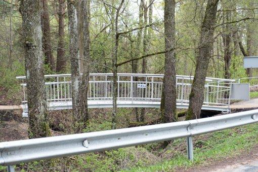 Dar viena dovana Alytui – tiltelis per Alytupio upelį