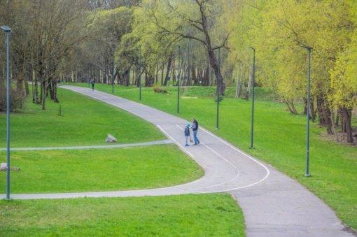Panevėžyje prasidėjo žaliųjų zonų tvarkymo darbai