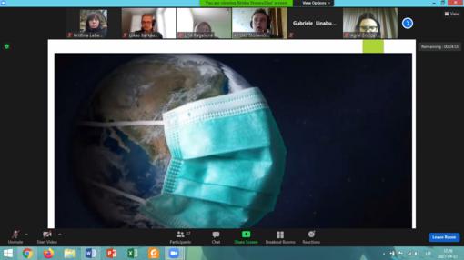 Šiaulių profesinio rengimo centro mokiniai tarptautinėje konferencijoje sprendė planetos užterštumo klausimus