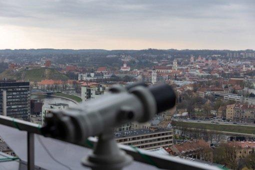Vilniaus savivaldybė mažina jos pastato 20-ojo aukšto nuomos kainą