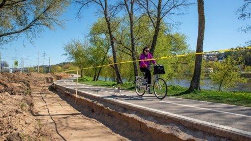 Pokyčiai Kauno krantinėje – pradedama Neries parko rekonstrukcija
