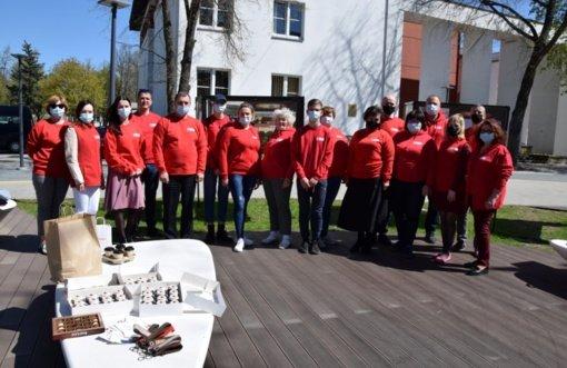 Vilkaviškio savanoriai paminėjo Tarptautinę Raudonojo kryžiaus dieną