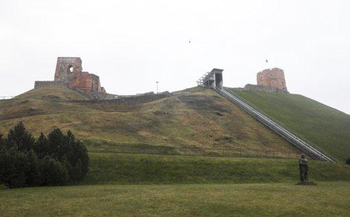 Gedimino kalno papėdėje surastas paskutinis nežinomas Žemutinės pilies bokštas
