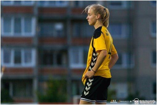 """Jaunimo komandos """"Gintra-ŠSG"""" saugė R. Šešplaukytė: jaudulys yra gera paspirtis stengtis ir eiti pirmyn"""