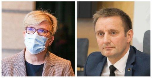 I. Šimonytė mokinių testavimo išsižadėjusiam A. Visockui: meras turėtų matyti prastėjančią situaciją Šiaulių ligoninėse