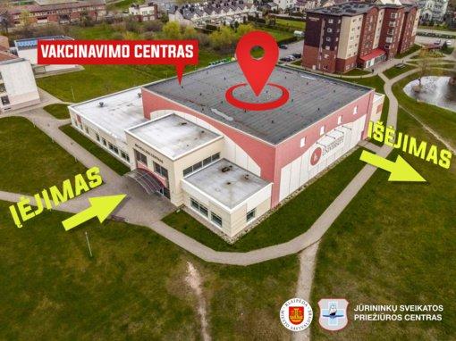 Klaipėdoje atidaromas naujas vakcinavimo centras