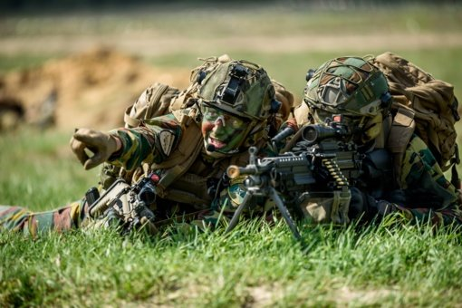 Rukloje susitikę Lietuvos ir Belgijos kariuomenių vadai aptarė saugumo situaciją ir bendrus planus
