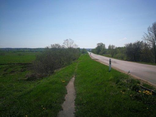 Kaišiadorių rajone prasidės pėsčiųjų-dviračių tako įrengimo darbai