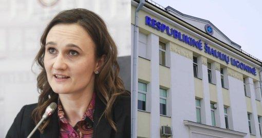 V. Čmilytė-Nielsen: turime apsaugoti spaudimą patiriančius medikus