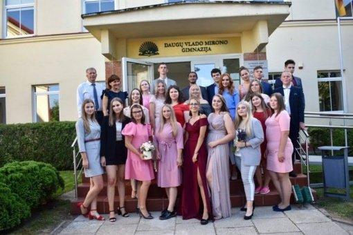 Daugų V. Mirono gimnazija – viena geriausių šalies mokyklų