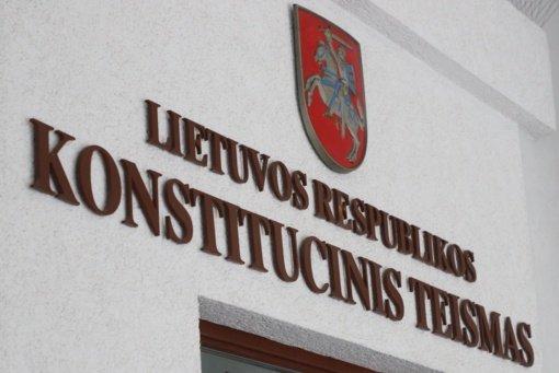 KT: trumpas mokesčių pataisų įsigaliojimo laikas prieštarauja Konstitucijai