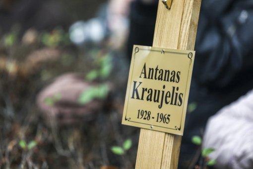 Vilniuje atidengiamas paminklas paskutiniajam partizanui – A. Kraujeliui-Siaubūnui