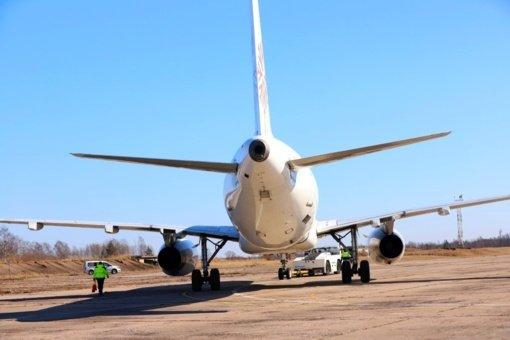 Tarptautiniame Šiaulių oro uoste pradėtos 20 mln. eurų vertės lėktuvų angaro statybos